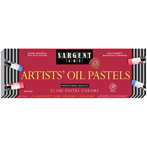 Sargent Art 22-2018 25-Count Oil Pastels by