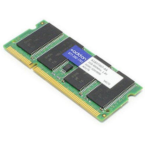ADD-ON Computer Peripherals (ACP) a1837307-aa 2GB DDR2800MHz Speicher-Modul–Module Arbeitsspeicher (2GB, 1x 2GB, DDR2, 800MHz, 200-pin DIMM, grün)