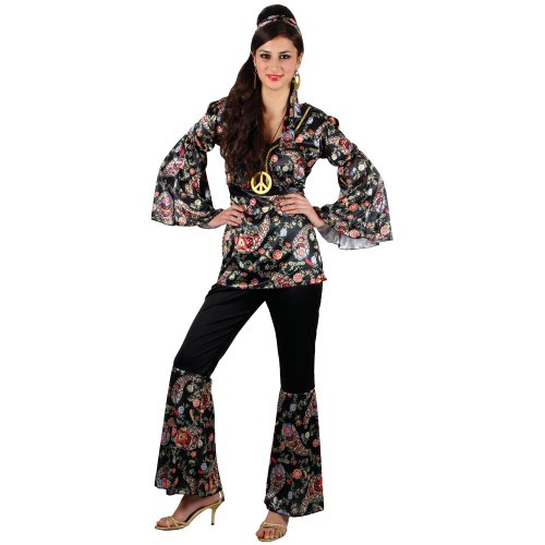 Flower Power Hippie Hippy Verkleidungsparty Karneval Fasching Halloween Kostüm ()