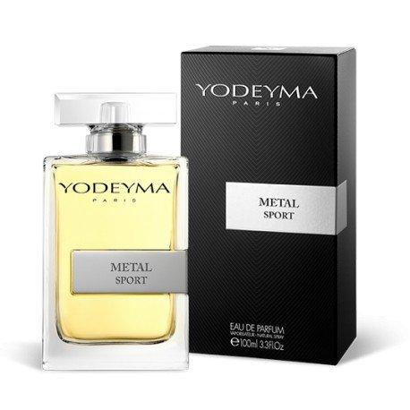 Profumo uomo yodeyma metal sport eau de parfum 100 ml