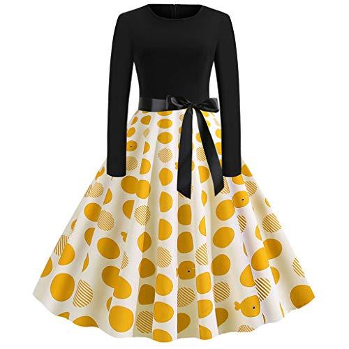 Obestseller Damen Übergröße Mock Neck Top Asymmetrisch Spitzen Bluse Langarm Kleid -