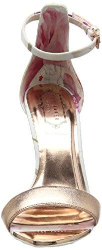 Baker Donna Sandali Open Ted sketchbook Charv Toe Multicolore daHqx6w