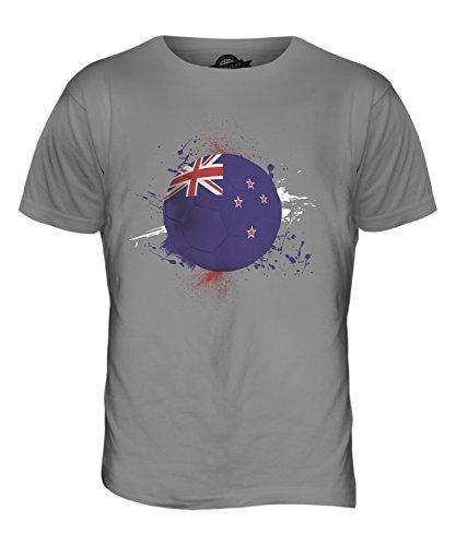 CandyMix Neuseeland Fußball Herren T Shirt Hellgrau