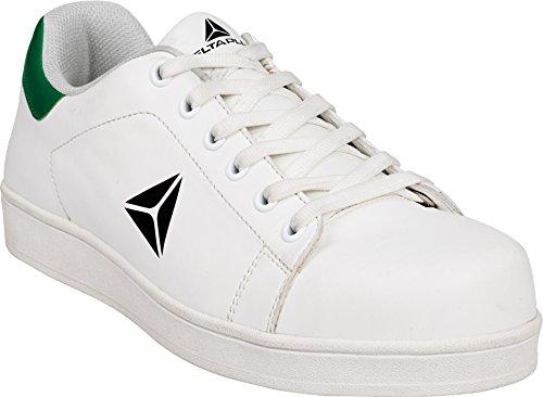 DELTAPLUS, Scarpe Antinfortunistiche Uomo Bianco White, Bianco (White), 43,5 EU