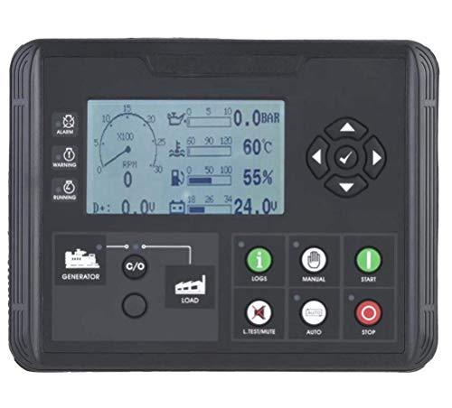 Generatorspannungsregler, MKII Electronic Generator Controller Modul Bedienfeld Für Dieselmotor Oder Generator (DC50D) - 120v 60hz Single