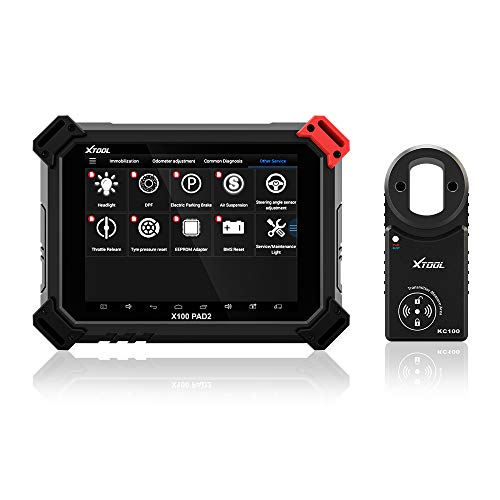 XTOOL X100 Pad2 Pro Car OBDII Diagnostic Tool Auto Key Programmer Code  Reader Scanner Remote Diagnostic,ABS,TPMS, EPB, DPF, BMS with KC100 Key