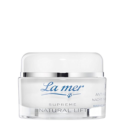 La mer Supreme Natural Lift Anti Age Cream Nacht 50 ml ohne Parfum (Le Mer Hautpflege)