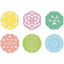 Tescoma Delicia - Plantilla decorativa (6 piezas, plástico)