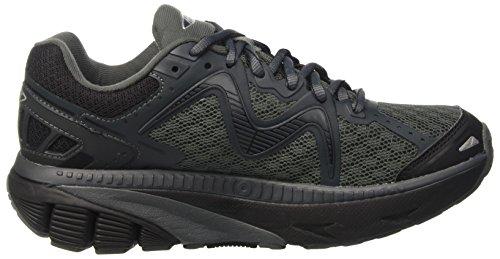 MBT Gt 16, Chaussures de Course pour Entraînement sur Route Femme Multicolore (Black/Silver)