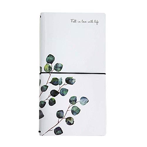jingyuu notizbuch weiß notizbuch bullet journal notizbuch edel notizbuch hardcover notizbuch in leder notizbuch reise notizbuch gepunktet(1 pcs) (Leder-journal Weiße)