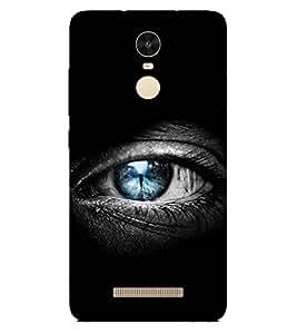 PRINTSWAG EYE Designer Back Cover Case for Xiaomi Redmi Note 3