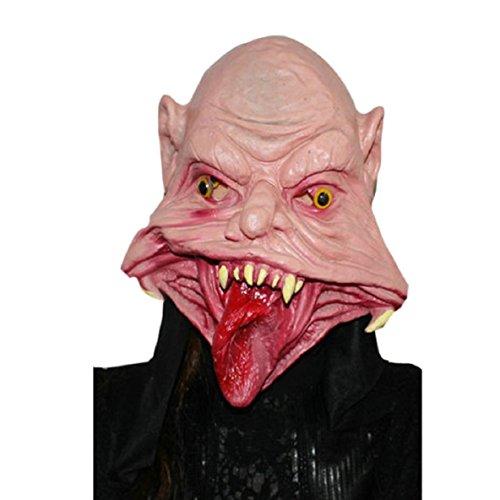 Culater Halloween del partido de Cosplay del Terror Mask Máscara máscara del fantasma (A)