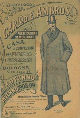 Catalogo. Autunno-Inverno 1908/09.
