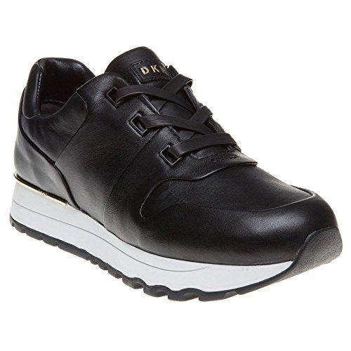 DKNY Jo Luxe Runner Donna Sneaker Nero Schwarz