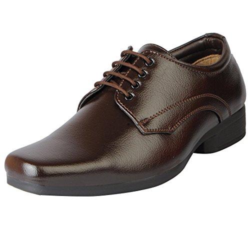 Bata Men's Formal Lace up shoes (7 UK, Brown)