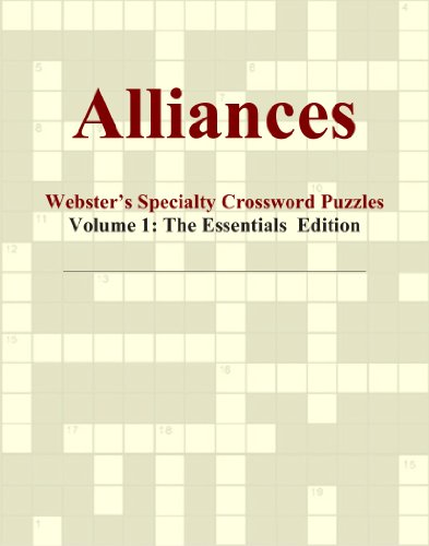 alliances-websters-specialty-crossword-puzzles-volume-1-the-essentials-edition