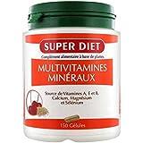 Super diet - Multivitamines et minéraux - 120 comprimés - Le complexe de la résistance et de la vita