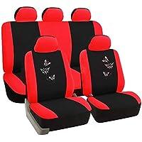 Sitzbezüge Sitzbezug Schonbezüge für Seat Arosa Schwarz Modern MG-1 Komplettset