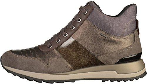 Sport scarpe per le donne, colore Nero , marca GEOX, modello Sport Scarpe Per Le Donne GEOX D ANEKO B ABX B Nero castagna