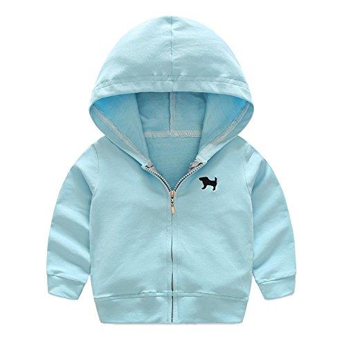 Bestanx Kinder Baby Hoodie Pullover Jacke Kapuze Sweatshirt Sweatjacke