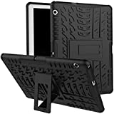 Azzil Hybrid Stand_up Feature Dual Layer Protective Shell Hard Back Cover Case Perfact [9.6 Inch] Fit Back Cover Case For Huawei MediPad T3 10