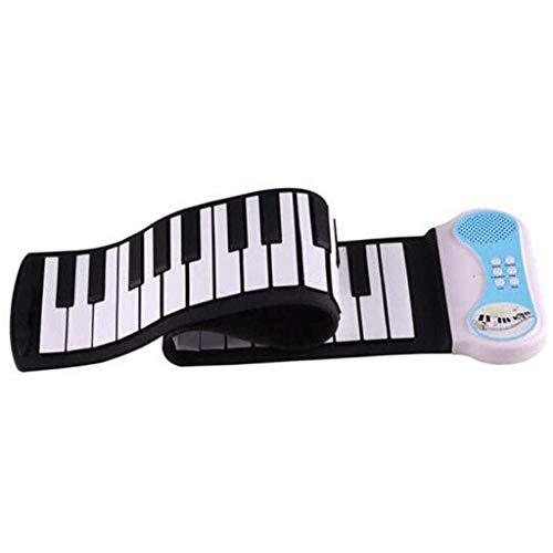 ZXCVB Roll-up Piano tastiera elettronica con il Centro di controllo touch screen, tastiera portatile, Silicone e Amplificato