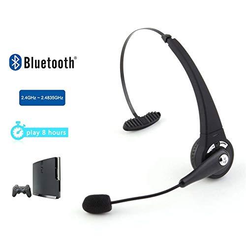 Gaming-Bluetooth-Headset Kopfhörer Kopfhörer Stereo Sound für Sony Playstation 3 PS3 mit Mikrofon HP (Sony Stereo-headset Ps3)