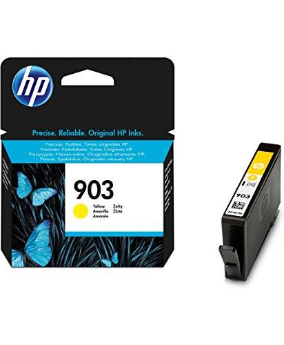 HP 903 - Cartucho de tinta para impresoras (estándar, compatible con OfficeJet Pro 6960 AiO/6970 AiO), amarillo