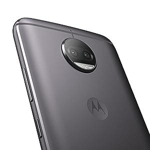 "Motorola Moto G5s Plus - Smartphone de 5.5"" (4G, Wifi, cámara dual de 13 MP, Bluetooth 4.2, Qualcomm Octacore MSM8953 2.0 GHz, 32 GB de memoria interna, 3 GB de RAM, Android, 32GB) color gris"