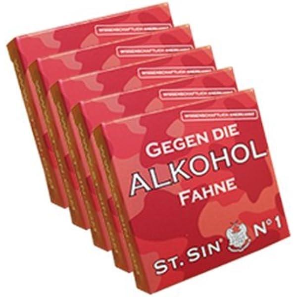 St Sin Nr 1 Gegen Die Alkoholfahne Amazon De Drogerie Körperpflege