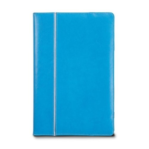 Maroo KOPE, Leder-Schutzhülle für Microsoft Surface RT, Schwarz blau blau