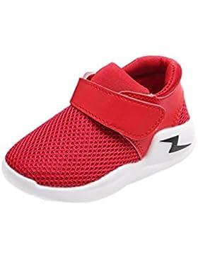 Baby Sneaker,Chshe Neue Mesh Plastik Art- und Weisejungen-beiläufige Turnschuh-Sportschuhe im Freien laufende...
