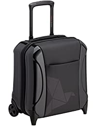 Pack Easy Biarritz Business-Trolley mit 2 Rollen, aus Polycarbonat & Polyester 41 Cm 27 Ltr., black