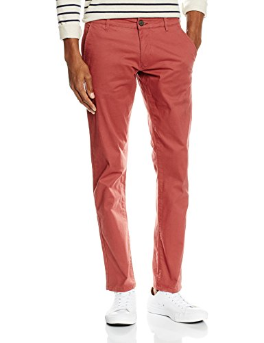 SELECTED HOMME Herren Hose Shhthreeparis ST Pants Noos, Rot (Apple Butter), W29/L30 (Herstellergröße: 29)
