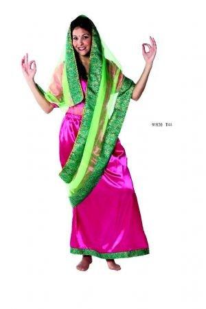 Imagen de disfraz hindú mujer. talla 42/44.