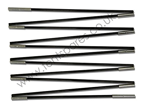 41hYfzBoEPL - Hi Gear Odyssey Elite 6 Black Coded Fibreglass Main Tent Pole Run