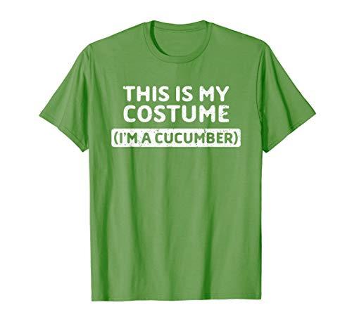 Kostüm Nacht Gurke - I'm A Cucumber Funny Halloween Gift T-Shirt