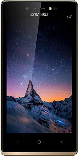 SANSUI S51(DUAL SIM 4G VoLTE, 1GB RAM , 8GB INTERNAL STORAGE, 4.5' DISPLAY WITH ATTRACTIVE GOLDEN BORDER)