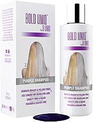 Shampoo Antigiallo Per Capelli Biond - Tonalizzante Capelli - Silver Shampoo Per Toni Violacei - Rivitalizza i Capelli Biond