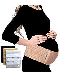 Luamex Testsieger- Schwangerschaftsgürtel - Bauchband Schwangerschaft - Schwangerschaftsgurt verstellbar - Bauchstütze gegen Bauch- und Rückenschmerzen - Bauchgurt Schwangerschaft - eBook - Extender