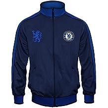 Chelsea FC - Chaqueta de entrenamiento oficial - Para niño - Estilo retro a5fe79af69a12