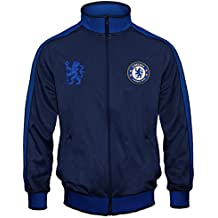 Chelsea FC - Chaqueta de entrenamiento oficial - Para niño - Estilo retro 7e87a02f4ba