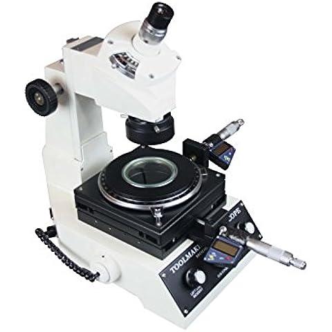 Radical alta precisión carpintería ángulo & lineal Industrial Microscopio de medición micrómetro Digital–1UM LED luz