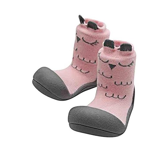 Attipas A17C, Zapatos Primeros Pasos, Rosa (Cutie Pink), 21.5 EU (L 116-125mm)