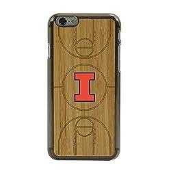 NCAA Illinois Fighting Illini Illinois Fighting Illini Eco Light Court Case for iPhone 6/6s