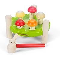 "Le Toy Van : jouet en bois : jeu martelage ""Mr Mushrooms"""