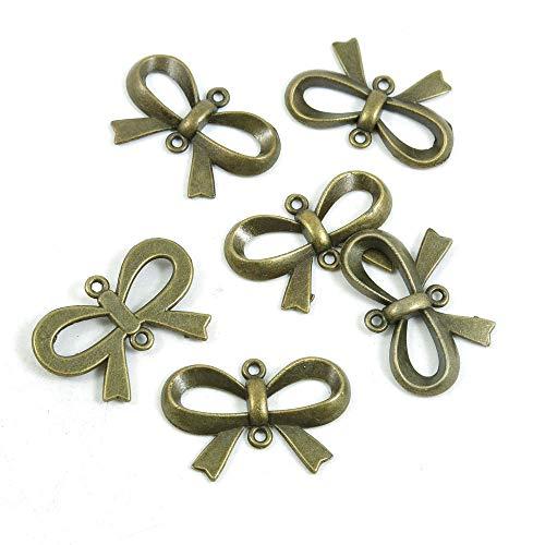 qingsb 100pcs 10mm 12mm Chiusura moschettone per Fare Gioielli Collana Bracciale Risultati 12 mm Antique Copper
