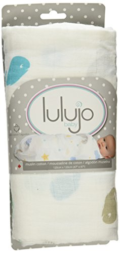 Muslin Swaddle Mulltuch - Baby Whale