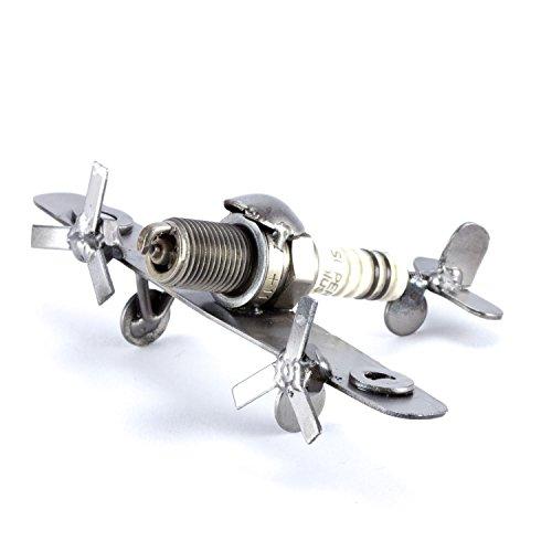 Steelman24 I Schraubenmännchen Flugzeug Mini Spitfire I Made in Germany I Handarbeit I Geschenkidee...