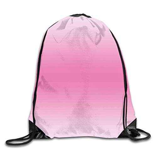 HLKPE Drawstring Backpacks Bags Daypacks,Fairytale Cotton Candy Inspired Theme Girly Design Room Decorations In Digital Modern Art Print,5 Liter Capacity Adjustable for Sport Gym Traveling - Cotton Candy Tie Dye